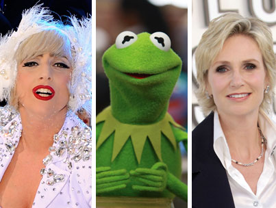 Lady Gaga, Jane Lynch Doing Muppet Movie?