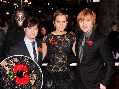 What's Up With Those Red 'Harry Potter' Poppy Pins?