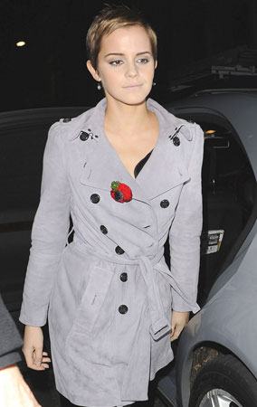 Emma Watson Leaves 'Potter' Party (PHOTOS)