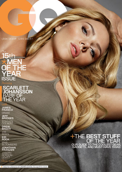 Scarlett Johansson Is GQ's 'Babe of the Year'