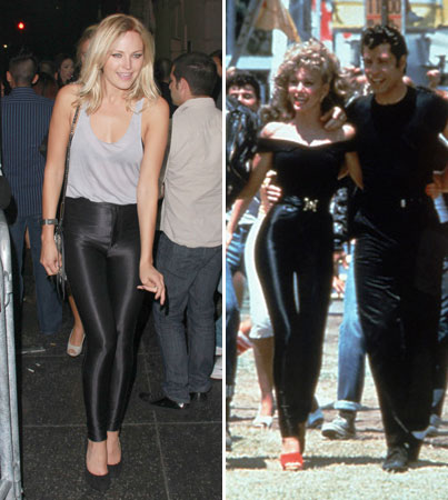 Malin Akerman Channels Olivia Newton-John