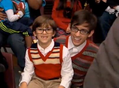Sneak Peek at 'Glee's' Mini-Me's! (VIDEO)