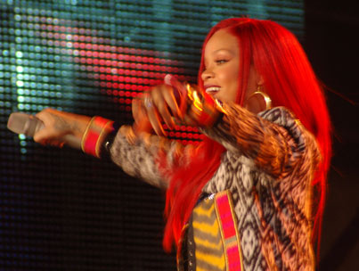 Rihanna Rocks MTV's 'The Seven' in Times Square (PHOTOS)