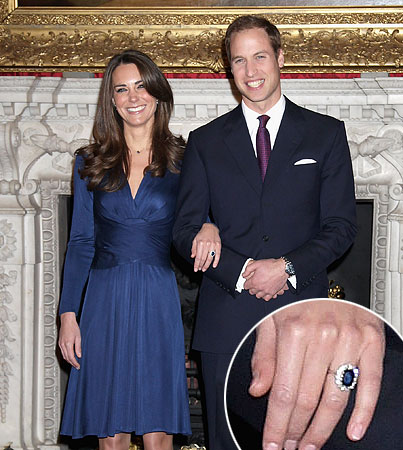 Check Out Kate Middleton's Engagement Ring!