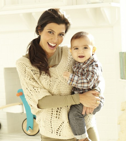 Kourtney Kardashian Chats with 'Baby Talk' Magazine