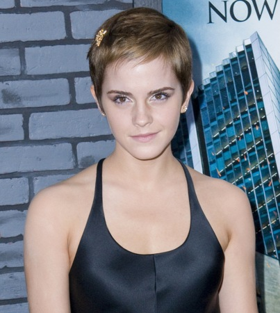 Emma Watson Says Her Short Hair Is 'Amazing'