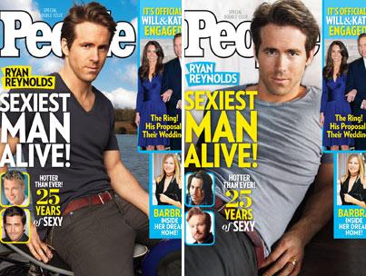 Ryan Reynolds: People's 'Sexiest Man Alive'!