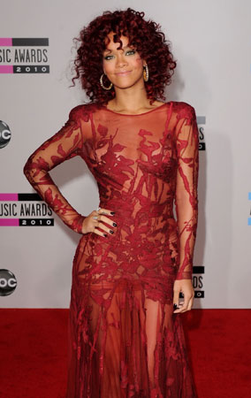 Best Dressed at the American Music Awards 2010