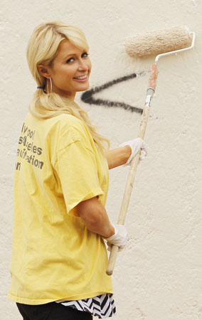 Paris Hilton Cleans Up in Heels (PHOTOS)