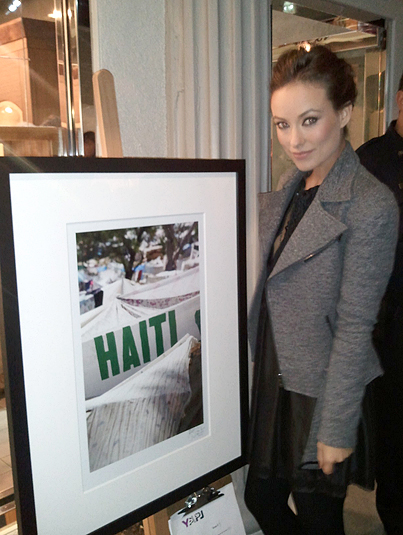 Olivia Wilde Talks Charity and 'Tron'