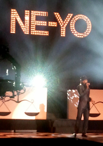Ne-Yo and VEVO Host a Rockin' AMA Bash