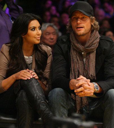 Kim Kardashian 'Just Friends' with Gabriel Aubrey (VIDEO)
