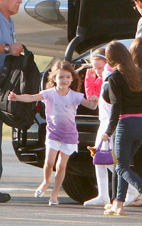 Suri Cruise Spends a Day on Board With Katie Holmes (PHOTOS)