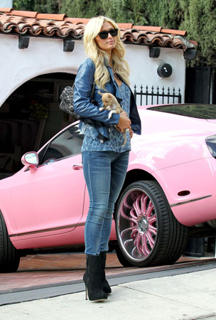 Paris Hilton Films Her New Reality Show