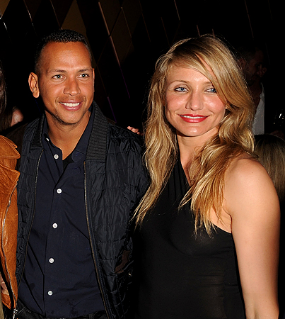 Spotted! Cameron Diaz and Alex Rodriguez Together Again