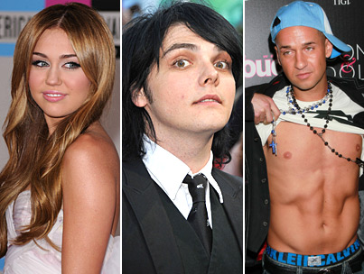 MCR Frontman Rips Miley Cyrus, 'Jersey Shore'