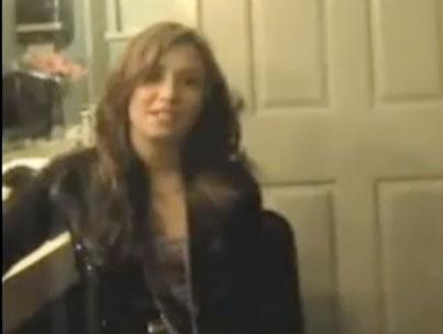 Demi Lovato's Thanksgiving Message (VIDEO)