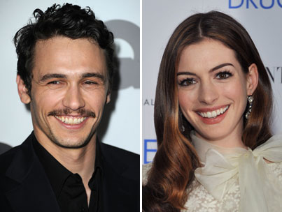 Anne Hathaway & James Franco Confirmed To Host Oscars