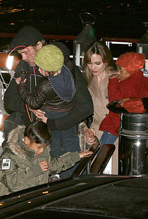 Pax Jolie-Pitt's Parisian Birthday Ride (PHOTOS)