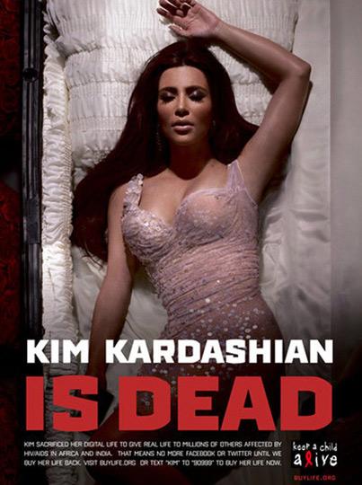 Lady Gaga, Kim Kardashian Quitting Twitter for Charity