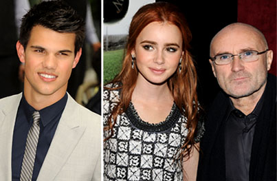 Taylor Lautner Meets His Girlfriend's Father