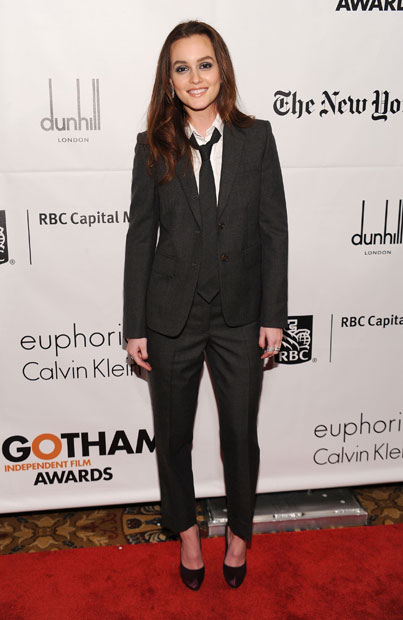 Leighton Meester Suits Up: Yay or Nay?