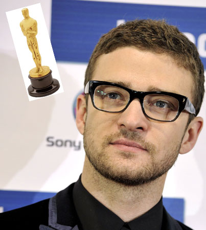 Justin Timberlake 'In With a Shot' For Oscar