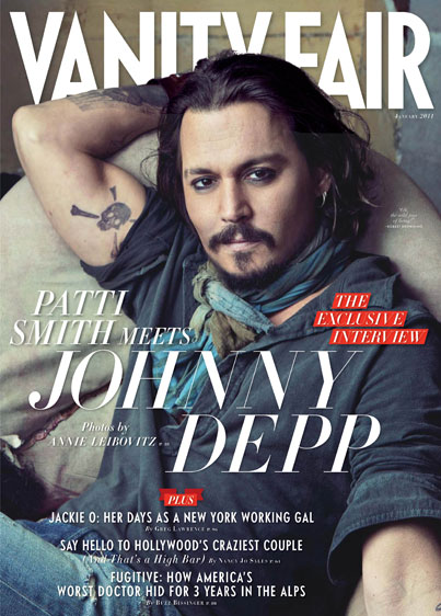 Johnny Depp Covers VF, Hearts Angelina Jolie (PHOTOS)