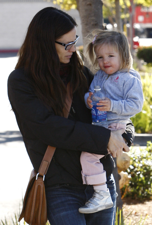 Jennifer Garner and Seraphina Are Right on Target (PHOTOS)