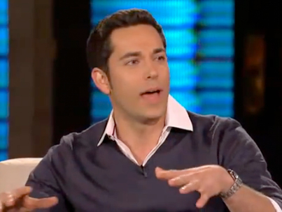 Zachary Levi on 'Lopez Tonight' (VIDEO)