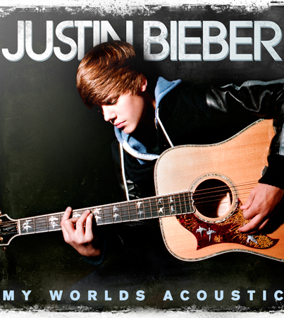 Giveaway Alert! Three SIGNED Copies of Justin Bieber's 'My World's Acoustic'