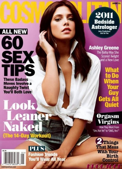 Ashley Greene Pretties Up 'Cosmopolitan'