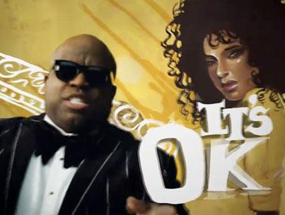 Cee Lo's New Video: 'It's OK' (VIDEO)