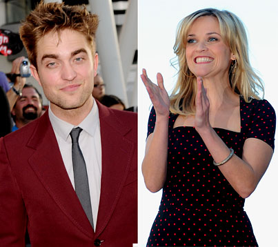 Reese Witherspoon Raves About 'Handsome' Co-Star Robert Pattinson