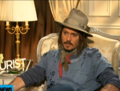 Johnny Depp Reveals Angelina Jolie's 'Scatological' Humor (VIDEO)