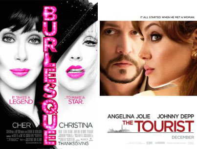 'Tourist,' 'Burlesque' Globe Nods Are 'Hideous,' Per Awards Pro