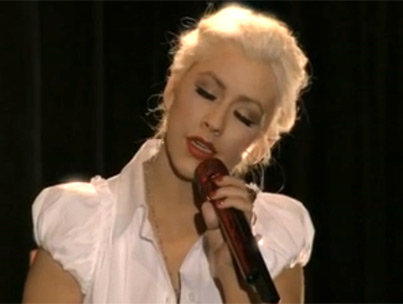 Christina Aguilera's Golden Globe Song 'Bound To You' (VIDEO)