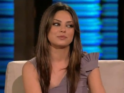 Mila Kunis: Miley Cyrus 'Was Smoking Some Weed' (VIDEO)