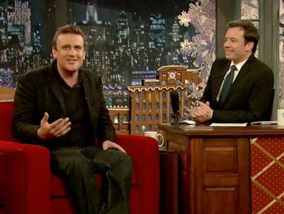 Jason Segel Talks Muppets with Jimmy Fallon