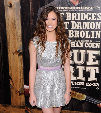 Hailee Steinfeld: The 14-Year-Old Breakout Star of 'True Grit'