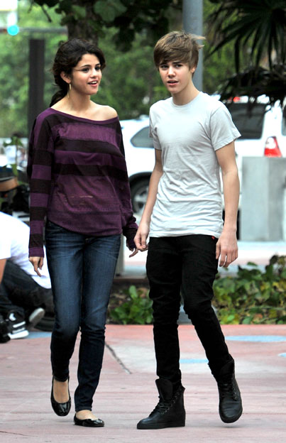 Justin Bieber & Selena Gomez' Private Hotel Date
