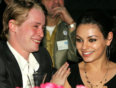 Mila Kunis and Macaulay Culkin Split