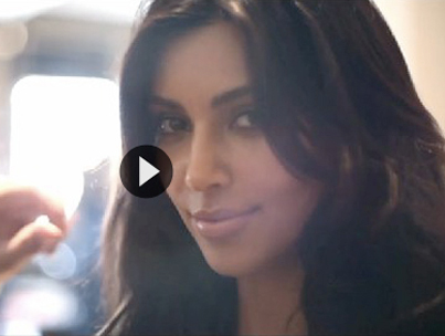 Behind the Scenes at Kim Kardashian's Glamour Photo Shoot