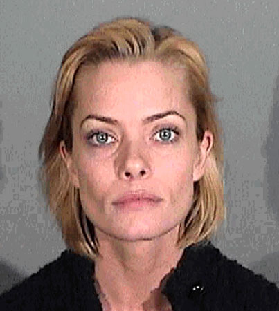 Jaime Pressly Mugshot Released