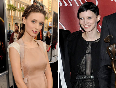 Rooney Mara Shows Off 'Dragon Tattoo' Transformation