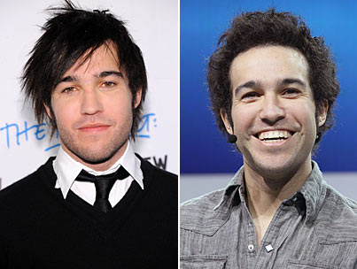 Pete Wentz's New Curly Hair