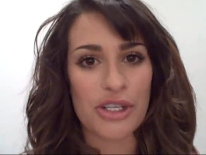 Lea Michele Reaches Out to a Sick Fan