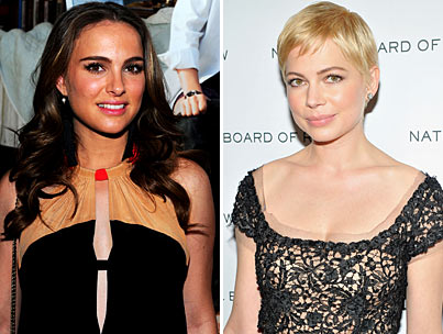 Golden Globes Battle: Natalie Portman vs. Michelle Williams-photo