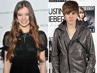 Hailee Steinfeld 'Very Excited' to Present with Justin Bieber-photo