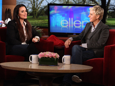 Kyle Richards Chats About Camille Grammer on 'Ellen'
